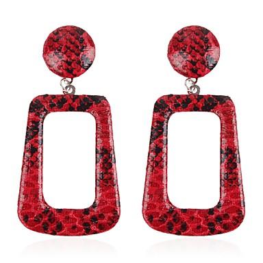 Žene Viseće naušnice fantazija dame Naušnice Jewelry Braon / Obala / Crvena Za Dar Dnevno 1 par