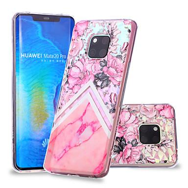 Θήκη Za Huawei Huawei Nova 3i / P smart / Huawei P Smart Plus Uzorak Stražnja maska Cvijet / Mramor Mekano TPU