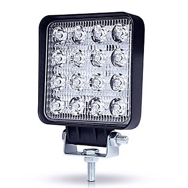 voordelige Autokoplampen-JIAWEN 1 Stuk Geen Automatisch Lampen 48 W Krachtige LED 4800 lm 16 LED Koplamp / Werklamp Voor Universeel Alle jaren