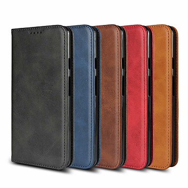 Θήκη Za Samsung Galaxy Note 9 / Note 8 Novčanik / sa stalkom / S magnetom Korice Jednobojni Tvrdo PU koža za Note 9 / Note 8