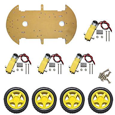 هيكل السيارة الذكية / 4wd قياس سرعة السيارة / أربع عجلات / عالية الطاقة magneto st-4wd / الطبقة واحدة