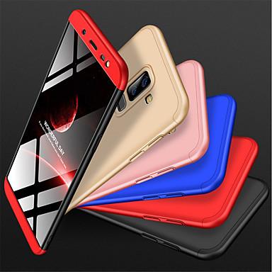 رخيصةأون حافظات / جرابات هواتف جالكسي J-غطاء من أجل Samsung Galaxy J8 (2018) ضد الصدمات / مثلج غطاء خلفي لون سادة قاسي الكمبيوتر الشخصي