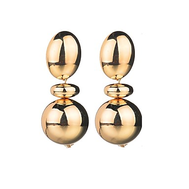 Žene Viseće naušnice Perlice dame Europska Naušnice Jewelry Zlato / Pink Za Zabava / večer Svečanost 1 par