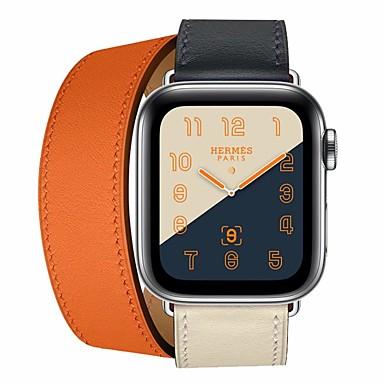 Pogledajte Band za Apple Watch Series 4/3/2/1 Apple Kožni remen Koža / Prava koža Traka za ruku