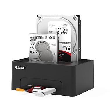 MAIWO USB 3.0 do SATA 3.0 Priključna stanica za vanjski tvrdi disk Plug and play / s USB priključnicama / Podrška izvanmrežna kopija 8000 GB K3082H