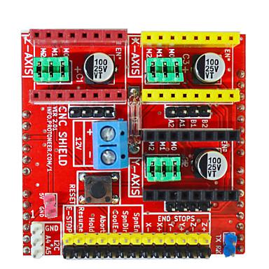 stroj za graviranje arduino / 3d pisač / motor sa stepperom / ploča za proširenje v2 (ne sadrži 4988)