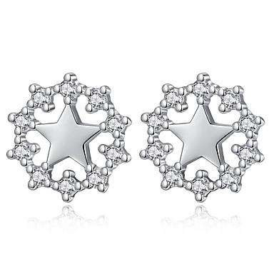 Žene Naušnica Klasičan Csillag dame Slatka Style Umjetno drago kamenje Naušnice Jewelry Pink Za Dnevno Spoj 1 par