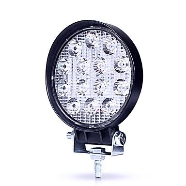 Недорогие Автомобильные фары-JIAWEN 1 шт. Нет Автомобиль Лампы 42 W Высокомощный LED 4200 lm 14 Светодиодная лампа Налобный фонарь Назначение Универсальный Все модели Все года
