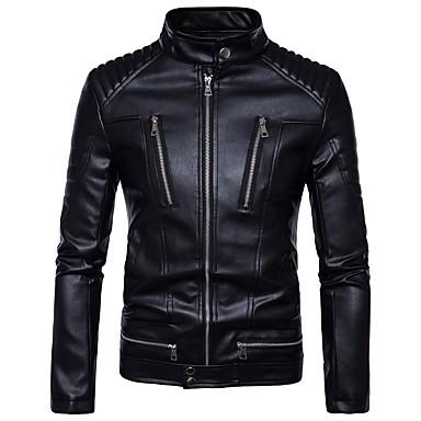 AOWOFS B013 Odjeća za motocikle Zakó za Muškarci PU koža Proljeće & Jesen / Zima Vodootporno / Otporne na nošenje / Protection