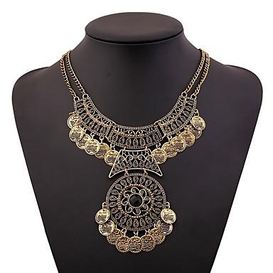 Žene Ogrlice-kragna dame Vintage afrički Elizabeth Locke Legura Zlato Pink 46+5 cm Ogrlice Jewelry 1pc Za Festival