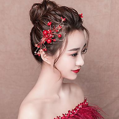 27611f775dfb2 العروس كلاسيكي تقليدي حصى استايل صيني أغطية الرأس مخالب الشعر من أجل مباركة  عروس حفلة الزفاف نسائي للفتيات مجوهرات 7013165 2019 – €44.39