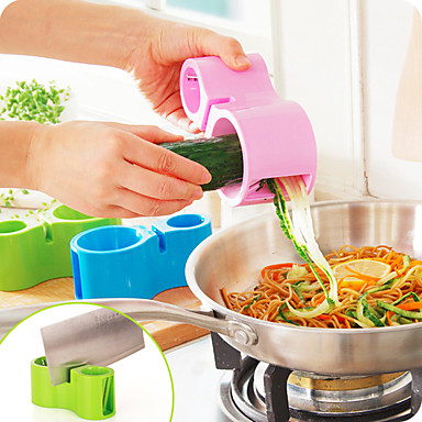 Stainless Steel + Plastic Striptizeta i ribež Kreativna kuhinja gadget Kuhinjski pribor Alati Nova kuhinjska oprema 1pc