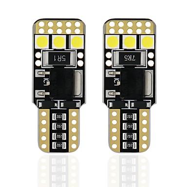 OTOLAMPARA 2pcs T10 Automobil Žarulje 6 W SMD 3030 480 lm 6 LED vanjska rasvjeta Za Univerzális Svi modeli Sve godine