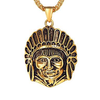 Muškarci Ogrlice s privjeskom Klasičan Klasik Tikovina Zlato Pink 55 cm Ogrlice Jewelry 1pc Za Dar Dnevno