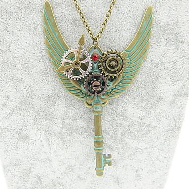 Žene Izjava Ogrlice Klasičan Gear dame Steampunk kinetički Legura Bronza 60+5 cm Ogrlice Jewelry 1pc Za Noć se i posebna prigoda Profesionalac