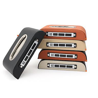 Oganizeri za auto Kutija maramica Koža / Drvo Za Univerzális Sve godine Svi modeli