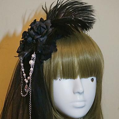 Cosplay Lolita oprema Glamurozna & Dramatic Sweet Lolita Gothic Lolita Princess Lolita Šeširi Trake za kosu Fascinators Nakit za kosu Za 16. rođendan Škola Dnevni Nosite Žene Djevojčice Nakit odjeće