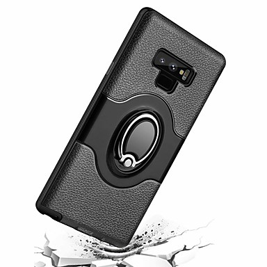 new product 9da4d 3db1d [$7.99] Case For Samsung Galaxy Note 9 Ring Holder Back Cover Armor Hard PC