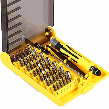 المهنية المحمولة 45 في 1 أدوات الأجهزة مفك الدقة بت الإصلاح اليد أداة طقم للهاتف المحمول إصلاح المنزلية