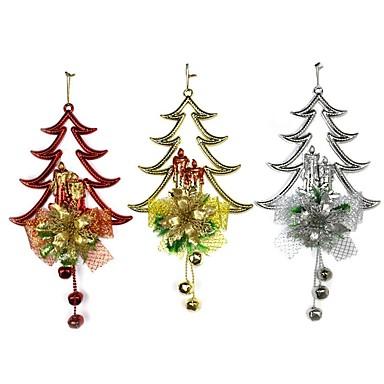 Odmor dekoracije Božićni ukrasi Božićni ukrasi Ukrasno Zlato / Pink / Crvena 1pc