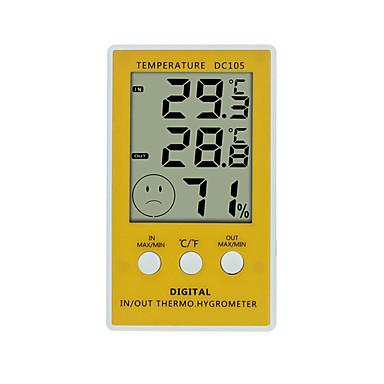 WINYS DC105 Prijenosno Unutarnji termometar -10℃~90℃ Kućanstvo, Mjerenje temperature i vlage
