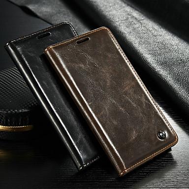 Θήκη Za Samsung Galaxy Note 5 Novčanik / Utor za kartice / sa stalkom Korice Jednobojni Tvrdo PU koža