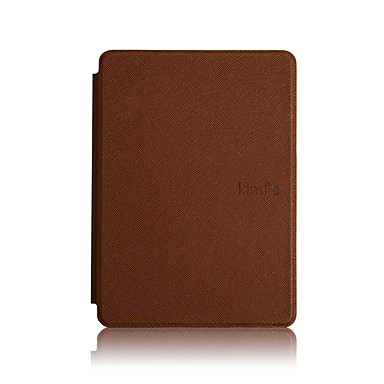 olcso Kindle tokok-Case Kompatibilitás Amazon Kindle PaperWhite 4 Ütésálló / Automatikus alvó állapot / felébredés Héjtok Egyszínű Kemény PU bőr