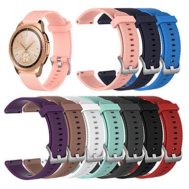 voordelige Horlogebandjes voor Samsung-Horlogeband voor Gear Sport / Gear S2 Classic / Samsung Galaxy Watch 42 Samsung Galaxy Sportband Silicone Polsband