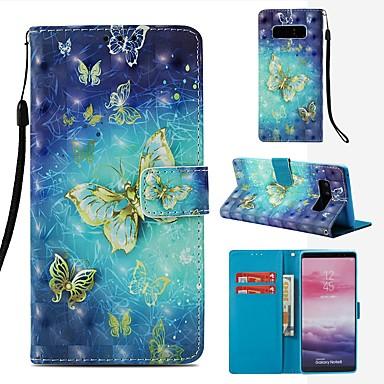 Θήκη Za Samsung Galaxy Note 8 Novčanik / Utor za kartice / Zaokret Korice Rukav leptir Tvrdo PU koža