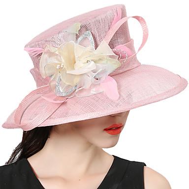 Elizabeta Čudesna gđa. Maisel Žene Odrasli dame Retro / vintage Kentucky Derby Hat šešir Pink Cvijet Til Šeširi Lolita Pribor