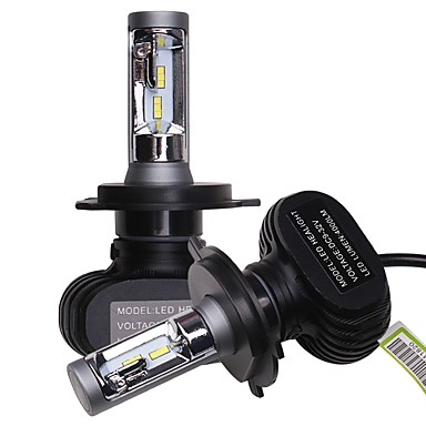 voordelige Autokoplampen-OTOLAMPARA 2pcs H13 / 9004 / 9007 Automatisch Lampen 25 W CSP 4000 lm 6 LED Koplamp Voor Volkswagen / Toyota / Hyundai Elantra / Fit / Polo 2018 / 2017