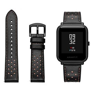 Pogledajte Band za Huami Amazfit Bip Younth Watch Xiaomi Sportski remen / Klasična kopča Prava koža Traka za ruku