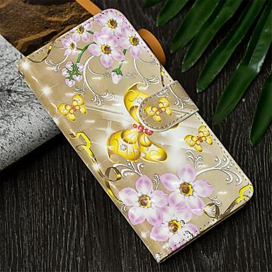 Θήκη Za Samsung Galaxy S9 / S9 Plus / S8 Plus Novčanik / Utor za kartice / sa stalkom Korice Rukav leptir / Cvijet Tvrdo PU koža