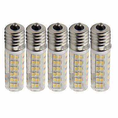 5pcs 4.5 W LED klipaste žarulje 450 lm E17 T 76 LED zrnca SMD 2835 Zatamnjen Toplo bijelo Hladno bijelo 220 V