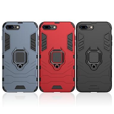 Θήκη Za Apple iPhone 7 Plus Otporno na trešnju / Prsten držač Stražnja maska Jednobojni / Oklop Tvrdo PC