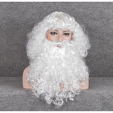 Kostimi Djeda Mraza Boy Odrasli Uniseks Božić Božić New Year Festival / Praznik Povezanih Obala Karneval kostime Odmor / More Accessories / Wig / More Accessories / Wig