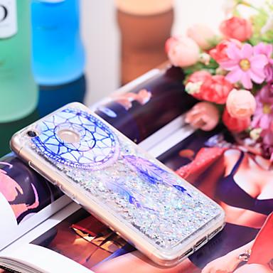 Недорогие Чехлы и кейсы для Xiaomi-Кейс для Назначение Xiaomi Xiaomi Redmi 4X Защита от удара / Сияние и блеск Кейс на заднюю панель Ловец снов / Сияние и блеск Мягкий ТПУ