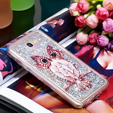 Θήκη Za Samsung Galaxy J7 Prime Otporno na trešnju / Šljokice Stražnja maska Sova / Šljokice Mekano TPU