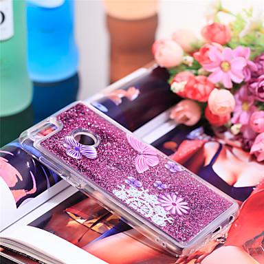 Θήκη Za Huawei Honor 7X Otporno na trešnju / Šljokice Stražnja maska Rukav leptir / Šljokice Mekano TPU