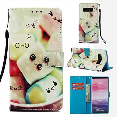 Θήκη Za Samsung Galaxy Note 8 Novčanik / Utor za kartice / Zaokret Korice Hrana Tvrdo PU koža