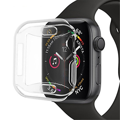 voordelige Smartwatch-hoezen-hoesje Voor Apple Apple Watch Series 4 Siliconen Apple