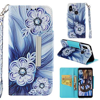 Θήκη Za Xiaomi Xiaomi Redmi Note 5 Pro Novčanik / Utor za kartice / Zaokret Korice Cvijet Tvrdo PU koža