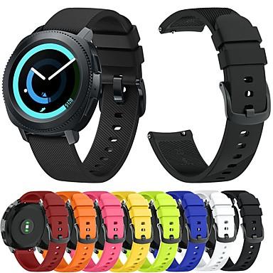 voordelige Horlogebandjes voor Samsung-Horlogeband voor Gear Sport / Gear S2 / Gear S2 Classic Samsung Galaxy Sportband / Klassieke gesp Silicone Polsband