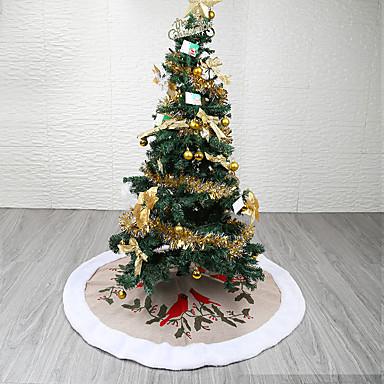 Božićna drvca / Božić / Božićni ukrasi Odmor / Božićno drvce Tekstil Krug / Cirkularno Party Božićni ukras