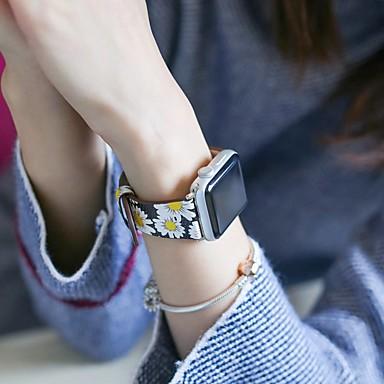 Pogledajte Band za Apple Watch Series 4/3/2/1 Apple Klasična kopča Prava koža Traka za ruku