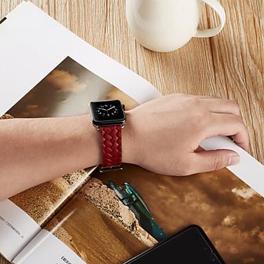 Pogledajte Band za Apple Watch Series 5/4/3/2/1 / Apple Watch Series 4 Apple Klasična kopča Prava koža Traka za ruku