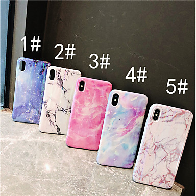 Θήκη Za Apple iPhone XS / iPhone XR / iPhone XS Max IMD Stražnja maska Mramor Mekano TPU