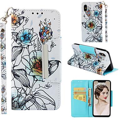 Θήκη Za Xiaomi Xiaomi Mi 8 Novčanik / Utor za kartice / Zaokret Korice Cvijet Tvrdo PU koža