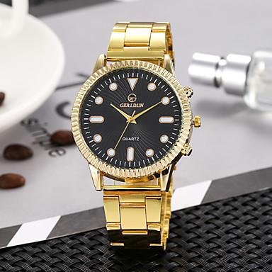 Žene Sat uz haljinu Ručni satovi s mehanizmom za navijanje Kvarc Zlatna Casual sat Analog Vintage Moda - Crn Obala Zlato