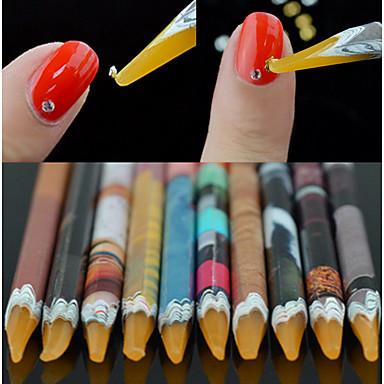 1pc Eko-friendly materijal Nail art alat Nail DIY Alati Za Multi Function / Najbolja kvaliteta Bijela serija nail art Manikura Pedikura pomodan / Moda Dnevno